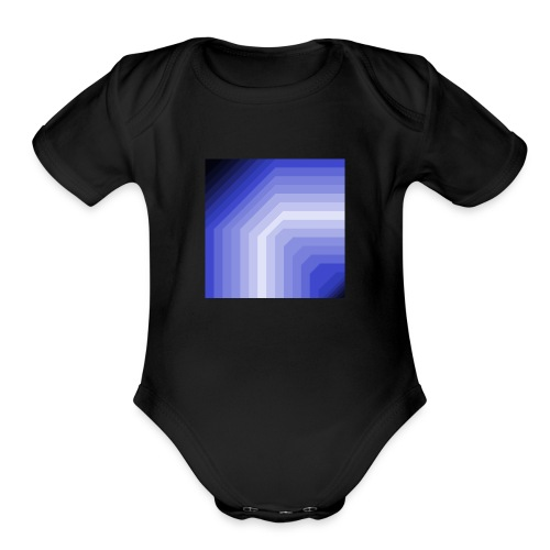 CredoCode Logo - Organic Short Sleeve Baby Bodysuit