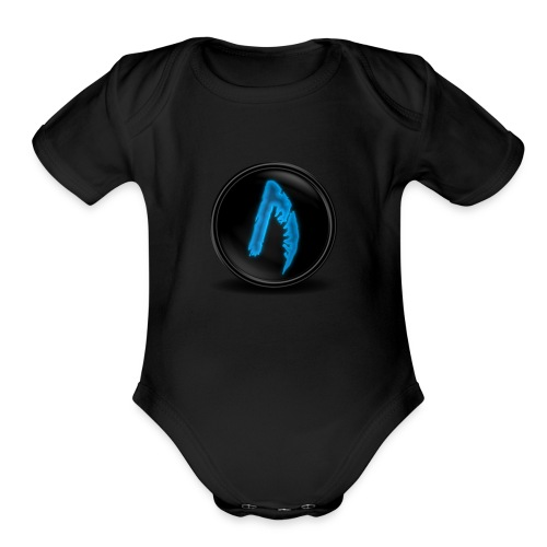 LBV Winger Merch - Organic Short Sleeve Baby Bodysuit