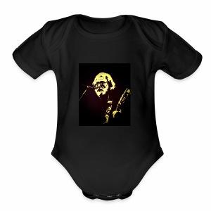 Diamond-Eye Jack - Short Sleeve Baby Bodysuit