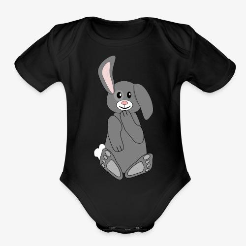 Bunny - Organic Short Sleeve Baby Bodysuit
