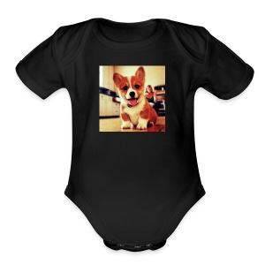 Love - Short Sleeve Baby Bodysuit