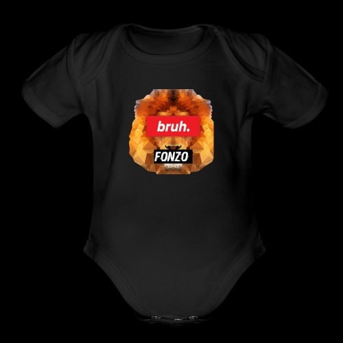 BruhFonzo [limited edition] - Organic Short Sleeve Baby Bodysuit