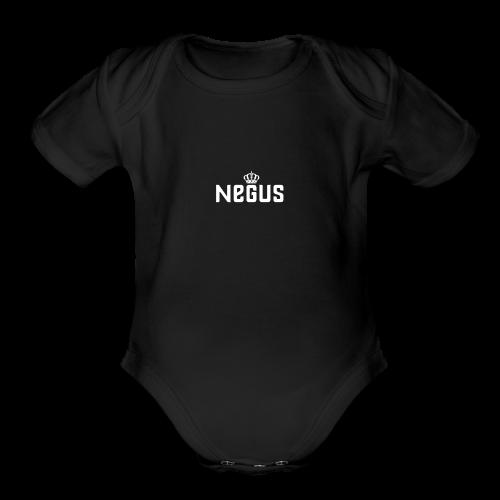 Negus - Organic Short Sleeve Baby Bodysuit