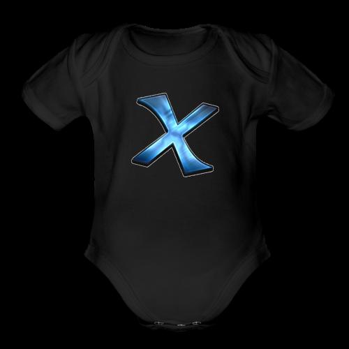 Predrax Ninja X Exclusive Premium Water Bottle - Organic Short Sleeve Baby Bodysuit