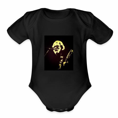 Diamond-Eye Jack - Organic Short Sleeve Baby Bodysuit