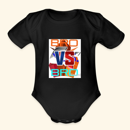 BroVSBro - Organic Short Sleeve Baby Bodysuit