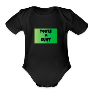 1 - Short Sleeve Baby Bodysuit
