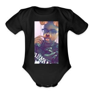 IMG 2526 - Short Sleeve Baby Bodysuit