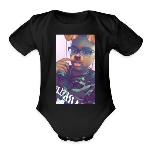 IMG 2526 - Organic Short Sleeve Baby Bodysuit