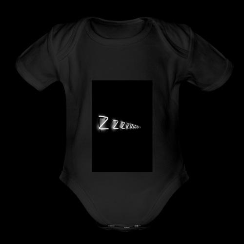 zzzz - Organic Short Sleeve Baby Bodysuit