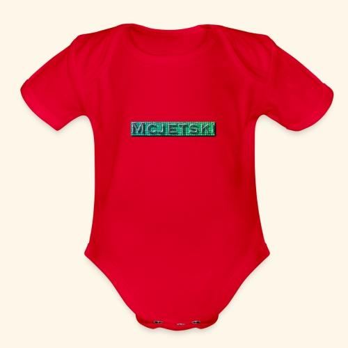 Channel - Organic Short Sleeve Baby Bodysuit