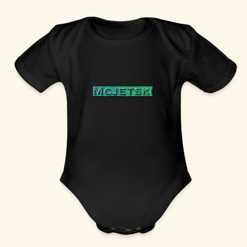 Channel - Organic Short Sleeve Baby Bodysuit