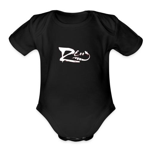 imageedit 2 6709949024 - Organic Short Sleeve Baby Bodysuit