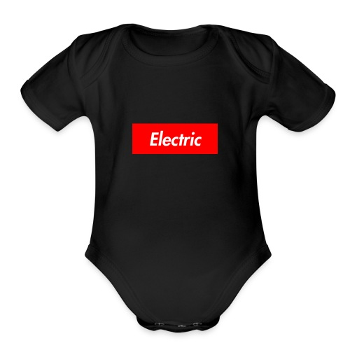 Electric - Organic Short Sleeve Baby Bodysuit