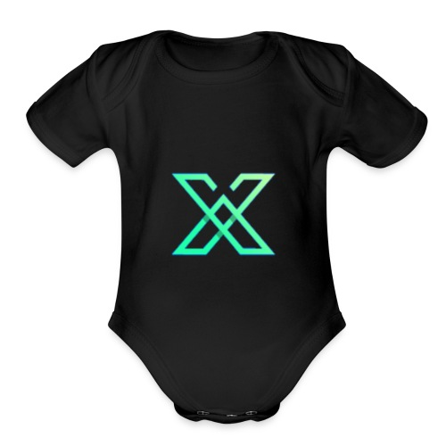 Blue Edition - Organic Short Sleeve Baby Bodysuit