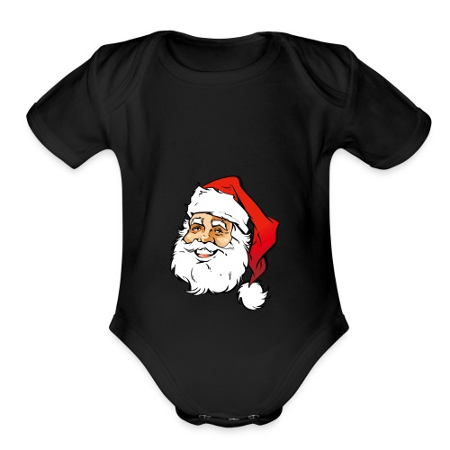 Christmas Limited Editing Merchs - Organic Short Sleeve Baby Bodysuit