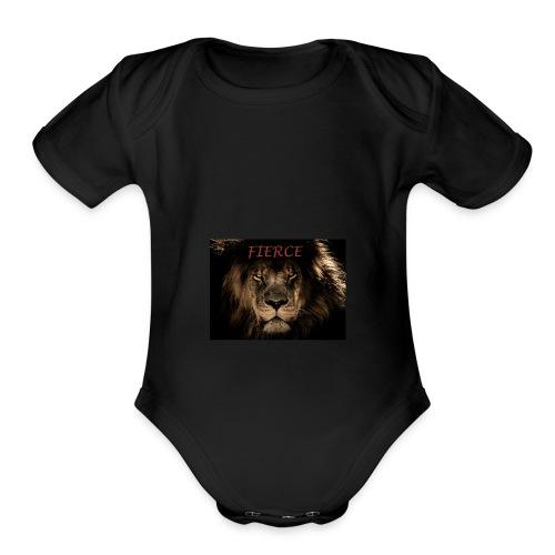 FIERCE - Organic Short Sleeve Baby Bodysuit