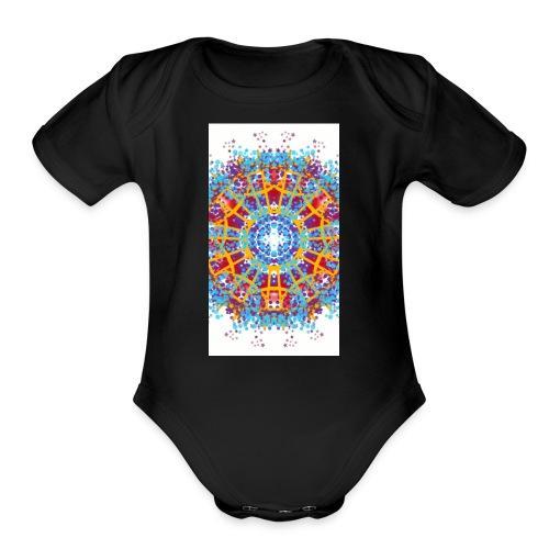 sketch 1503767458541 - Organic Short Sleeve Baby Bodysuit