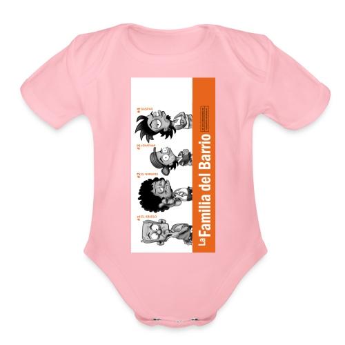 case1iphone5 - Organic Short Sleeve Baby Bodysuit