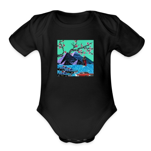 Pyramid Scheme - Organic Short Sleeve Baby Bodysuit