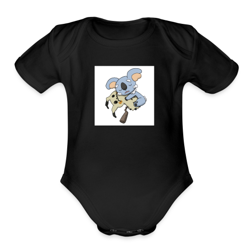 NeVeREnDiNg - Organic Short Sleeve Baby Bodysuit