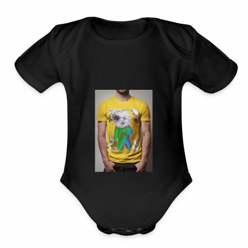 CABEÇA - Organic Short Sleeve Baby Bodysuit