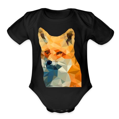 Jonk - Fox - Organic Short Sleeve Baby Bodysuit