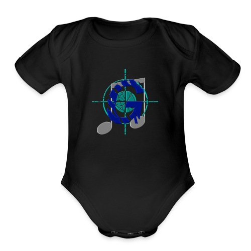 GoliathMusic's Logo - Organic Short Sleeve Baby Bodysuit