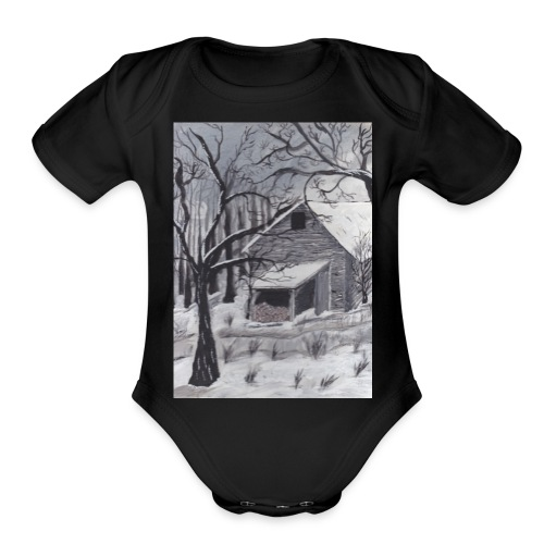 IMG 20171222 0002 - Organic Short Sleeve Baby Bodysuit