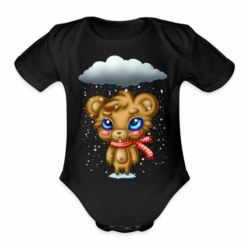 Bah Humbug - Organic Short Sleeve Baby Bodysuit