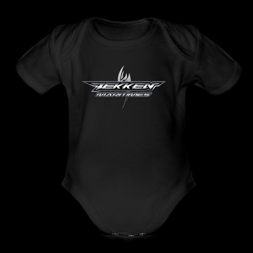 Tekken Maritimes Logo transparent - Organic Short Sleeve Baby Bodysuit