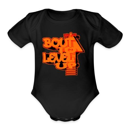 Bout to Level Up - Organic Short Sleeve Baby Bodysuit