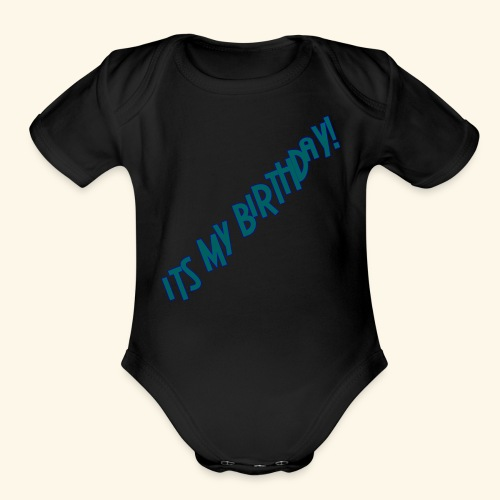 IMB summer 2018 - Organic Short Sleeve Baby Bodysuit