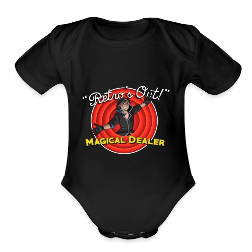 Retro Is Out - Organic Short Sleeve Baby Bodysuit