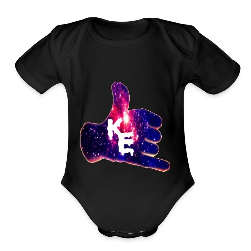 Kings Entertainment - Organic Short Sleeve Baby Bodysuit