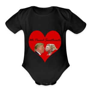 6th Period Sweethearts Government Mr Henry - Short Sleeve Baby Bodysuit
