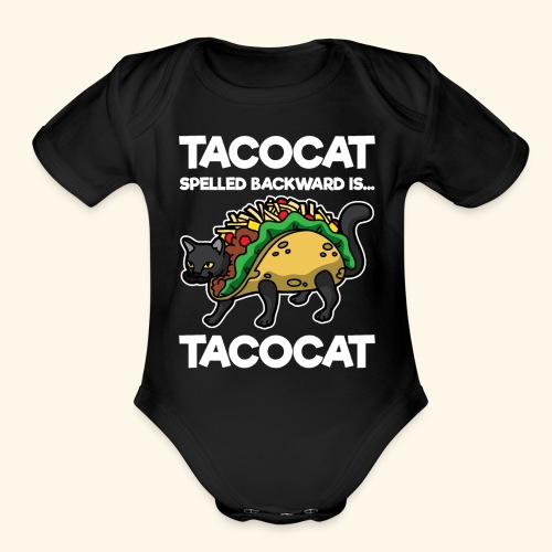 Tacocat is Tacocat - Organic Short Sleeve Baby Bodysuit