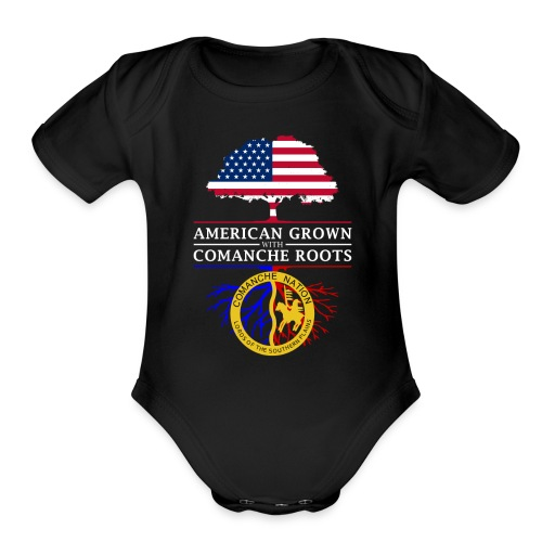 American Grown with Comanche Roots - Organic Short Sleeve Baby Bodysuit
