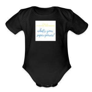Super Hero - Short Sleeve Baby Bodysuit