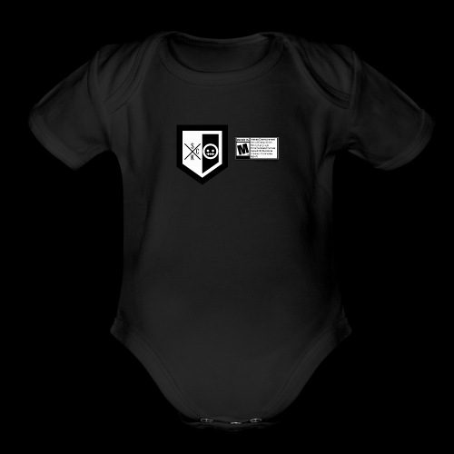 T shirt ScKFred ESRB - Organic Short Sleeve Baby Bodysuit