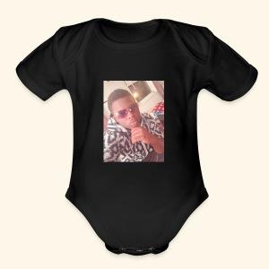 3BB1A2E4 4764 4E48 9CD2 CB0B98CE0E00 - Short Sleeve Baby Bodysuit