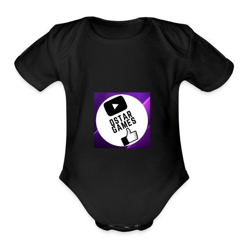 It's My Logo! - Organic Short Sleeve Baby Bodysuit