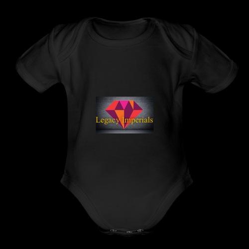 Imperial Diamond - Organic Short Sleeve Baby Bodysuit