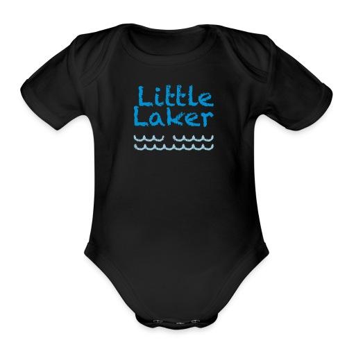 little laker - Organic Short Sleeve Baby Bodysuit