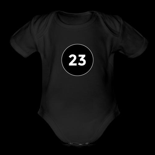 23 2014 logo - Organic Short Sleeve Baby Bodysuit