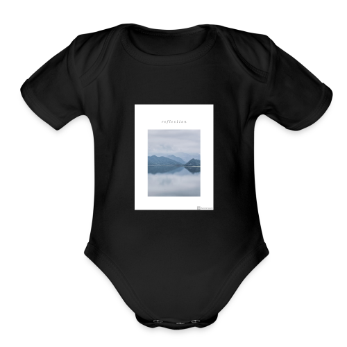 Reflection - Organic Short Sleeve Baby Bodysuit