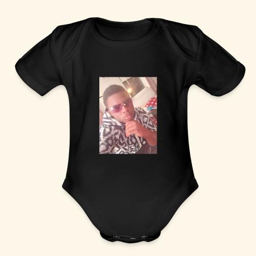 3BB1A2E4 4764 4E48 9CD2 CB0B98CE0E00 - Organic Short Sleeve Baby Bodysuit