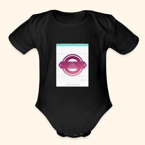 IMG 1458 - Organic Short Sleeve Baby Bodysuit