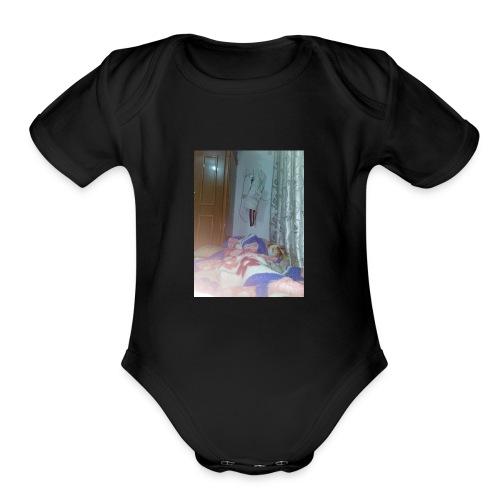 1510936397076808868458 - Organic Short Sleeve Baby Bodysuit