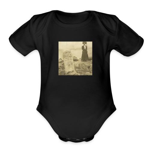 Mountain Rats - Organic Short Sleeve Baby Bodysuit